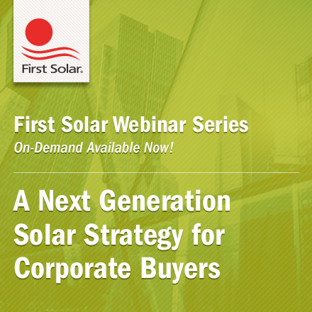 Corporate Renewables OnDemand Webinar|A Next Generation Solar Strategy for Corporate Buyers