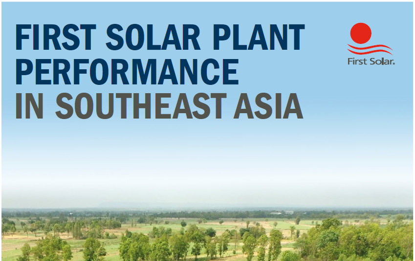 First Solar Performance in Southeast Asia|First Solar Performance in Southeast Asia