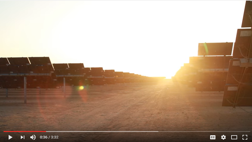 Shams Ma'an Solar Plant - Video|