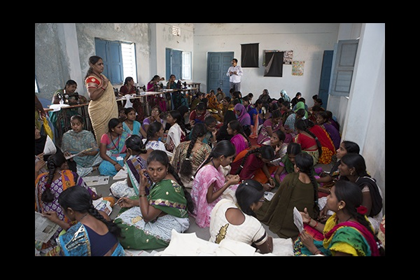 Training Women in India